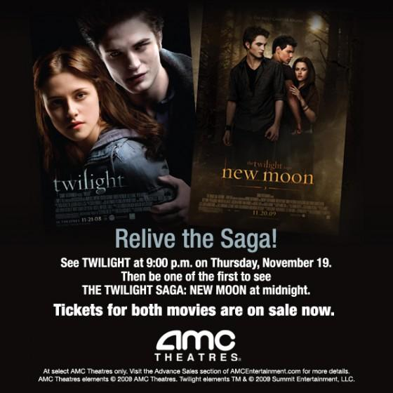 AMC Relive the Twilight Saga