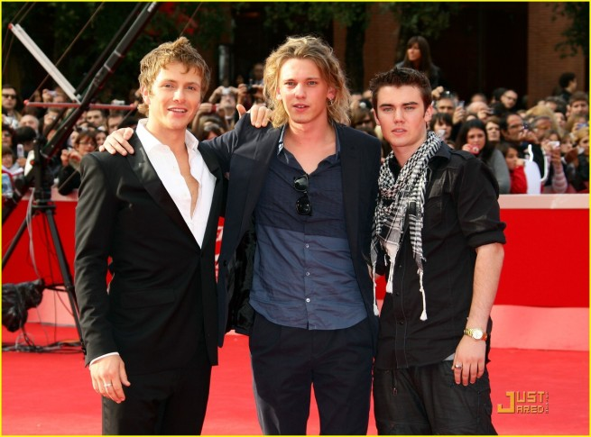 Charlie Jamie and Cameron in Rome