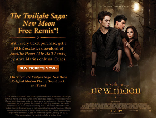 Fandago Free New Moon Remix