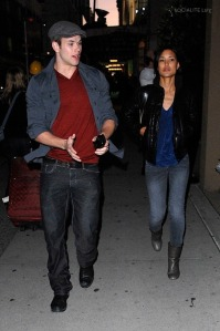 Kellan Lutz and Tinsel Korey out in Vancouver