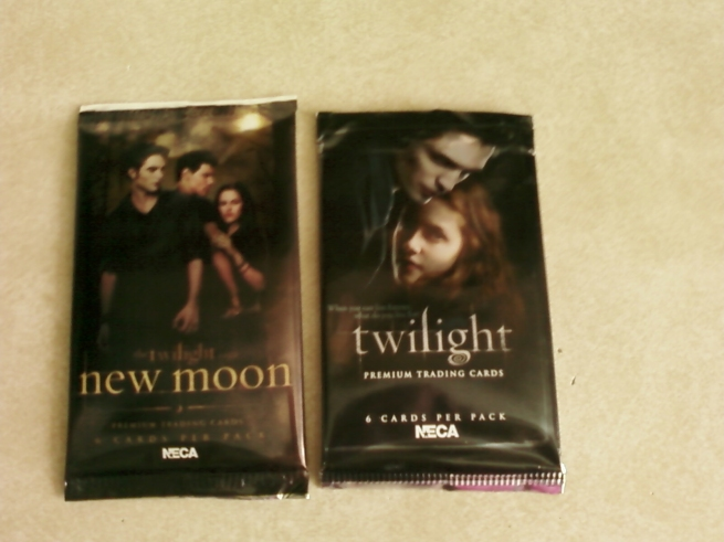 New Moon and Twilight Trading Card Packs