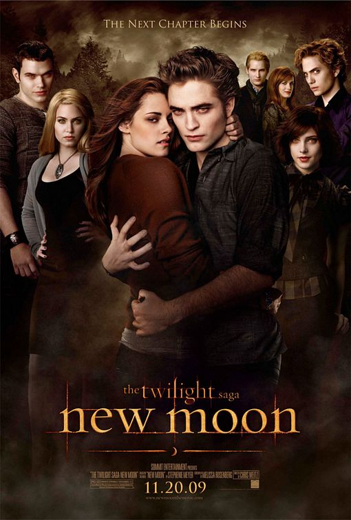 New Moon Poster of the Cullens