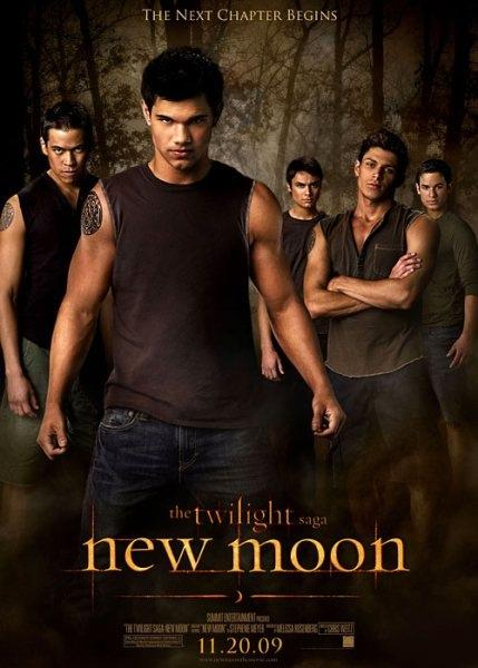 New Moon Poster of the Wolf Pack