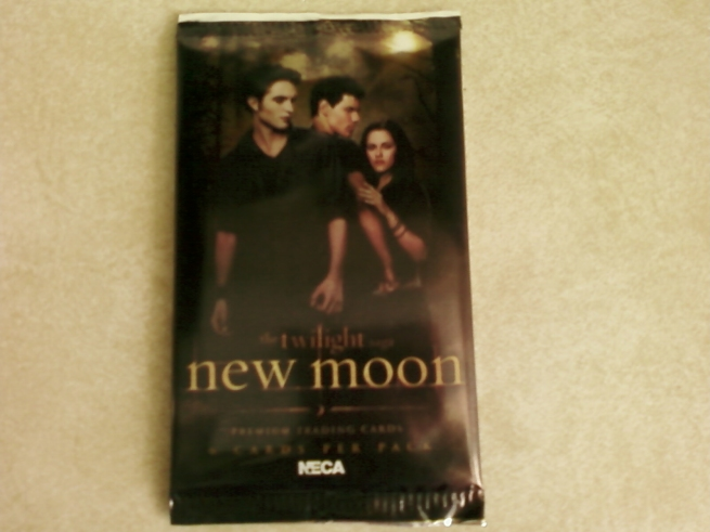 New Moon Trading Card Pack