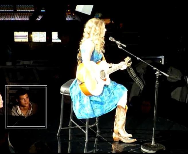 Taylor L at Taylor S Concert