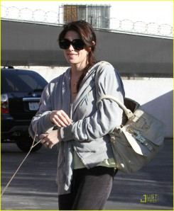 Ashley Greene and Marlow Back in LA