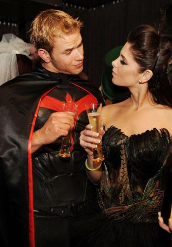 Kellan and Ashley on Halloween