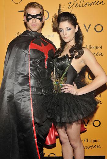 Kellan and Ashley's Halloween Costumes